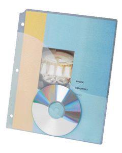 Binder Pocket Project Folder, Letter, Ice