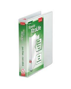 "Speedy XtraLife® Non-Stick Locking Slant-D® Ring Binder, 1"" White"
