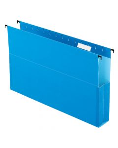 "Pendaflex® SureHook® Reinforced Hanging Box File, 2"", Legal, Blue, 1/5 Cut, 25/BX"