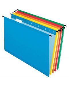 SureHook® Reinforced Hanging File Folder, Legal, Assorted