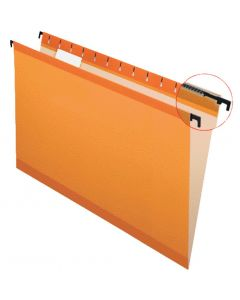 SureHook® Reinforced Hanging File Folder, Legal, Orange