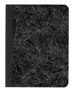 """TOPS™ Composition Book, 9-3/4"""" x 7-1/2"""", Wide Rule, Black Marble Cover, 100 SH/BK"""