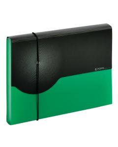 7 pocket poly expanding file – Letter, green