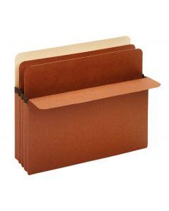 """Divider Pockets, 3.5"""" Expansion, 2 Dividers, Letter Size, 10/BX, 5/BX per RSC"""