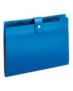 7 Pocket Expanding File, Blue
