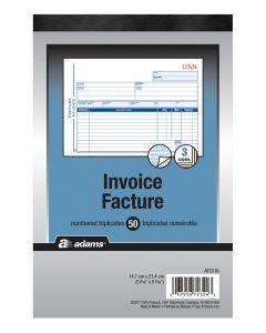 Invoice Book 3-Part