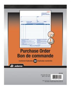 Purchase Order Book 3-Part