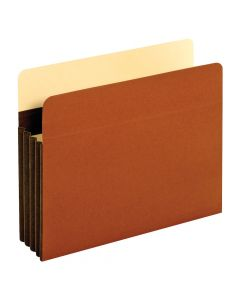 "Heavy Duty File Pockets, Letter Size, 3.5"" Expansion"