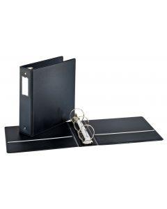 """Cardinal® Performer™ Round Ring Binder, 3"""", w/ LH, Black"""