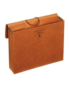 "Wallets, Standard, 3.5"" Exp., Brown, Letter, 25 EA/CT"