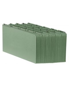 Heavyweight Alphabetic File Guides - Reinforced Tabs, Legal, Green