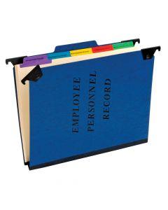Pendaflex® Hanging Employee/Personnel Folders, Letter Size, Blue, Each