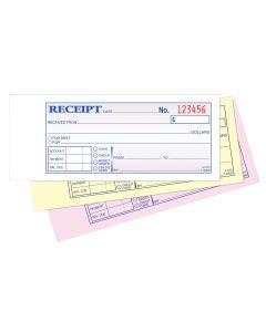 Money/Rent Receipt Book, Carbonless, 3-Part, 50 ST/BK