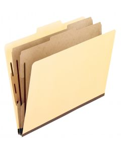 Economy Classification Folders, Letter size, Manila