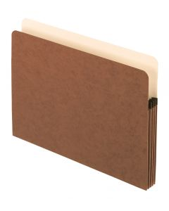 "Pendaflex® Pockets, 3.5"" Exp., Brown, Legal, 25/BX, 4 BX/CT"