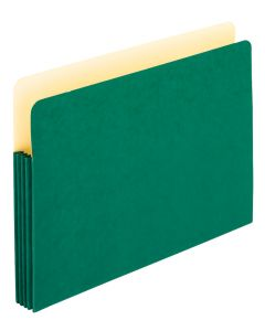 Color File Pockets, Legal size, Green