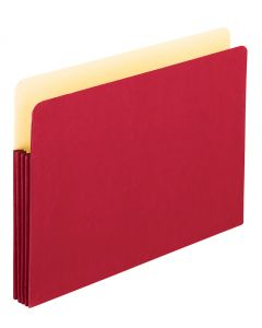 Color File Pockets, Legal size, Red