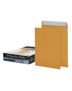 9 x 12 Catalog Envelopes with Self Seal Closure, 28 lb. Brown Kraft, Great Option for Mailing, Storage and Organizing, 100 per Box